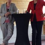 Dr. Barbara Hendricks & Violeta Bulc